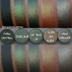 COLOURPOP SPRING PRESSED SHADOWS: REVIEW and SWATCHES