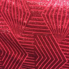 Red bombshells fashion shiny sequin lace on stretch  poly lycra spandex fabric…