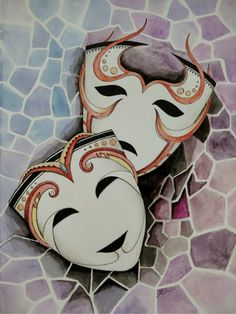 Masks 2 - Comedy & Tragedy