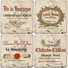 Thirstystone Ambiance Travertine Wine Labels Coaster, Multicolor >>> Hurry! Check out this great product : Kitchen Utensils and Gadgets