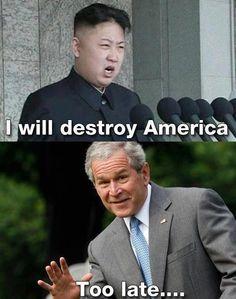 Kim Jong Un vows to destroy America