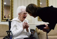 97-Year-Old Woman Cries Tears Of Joy After Finally Getting Her High School Diploma