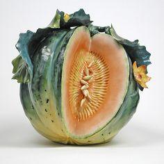Brookshaw Melon - Katherine Houston Porcelain