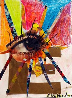 Allen Vandever; Chicago; cotemporary; new; yoga; nude; epoxy; artist; abstrac; new; collage; eye