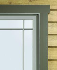 Modern Exterior Trim exterior window trim design ideas, pictures, remodel, and decor