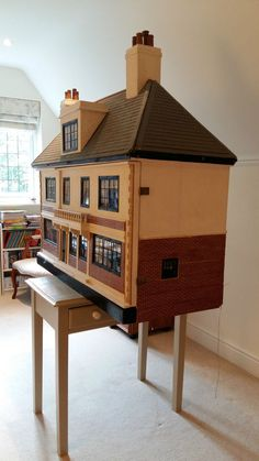 Very large rare Tri-ang dolls house 1930s