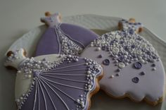 #cookies #royalicing #dress #art #icingcookies #icing