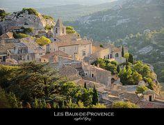 Les Baux-de-Provence by S. Lo
