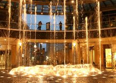 The Transcend Fountain at City Creek Center in Salt Lake City Slc Utah, Utah Usa, Fountain Of Youth, Salt Lake City Utah, Water Fountains, Hot Spots, Engagement Pics, New City, Park City