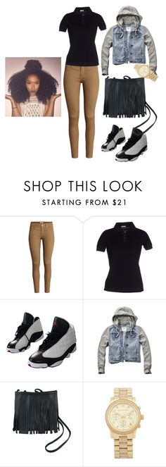 skool by carahyunlee on Polyvore featuring Galliano, Abercrombie & Fitch, H&M, NIKE and Michael Kors