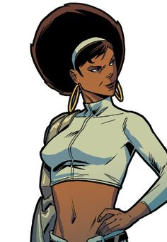 Misty Knight in House of M Vol 2 #2 (2015) - Marco Failla