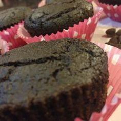 Very Chocolate Muffins, These muffins are so fudgy and decadent, you'll find it hard to believe they're under 150 calories a piece.