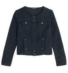 Canvas jacket rinse denim - Promod