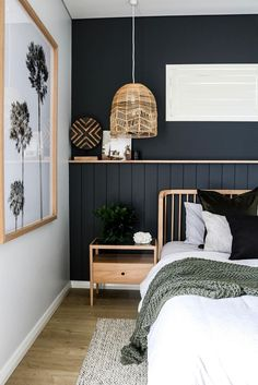 Another amazing project by #IDIstudent Kelly Donougher from @13interiors who has transformed this space into a coastal oasis! #coastalhome #bedroom