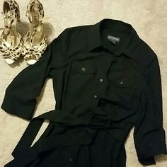 Banana Republic black dress, size 6 Stretchy fabric, comfy for the on the go woman. Banana Republic Dresses Midi