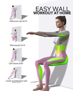 body workout at home with weights Fitness Workouts, Gym Workout Videos, Gym Workout For Beginners, Fitness Workout For Women, Body Fitness, Easy Workouts, At Home Workouts, Workout Days, Wand Training