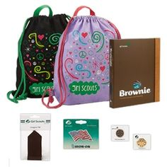 Get girls excited about starting out with Girl Scouts!