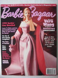Barbie Bazaar Magazine April 1999 Volume 11, Issue 2 1999 Barbie Line   eBay