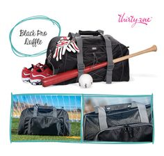 Keep your baseball gear together like an all-star with our Pro Duffle.