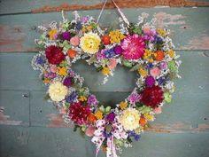Idea for Valentine wreaths
