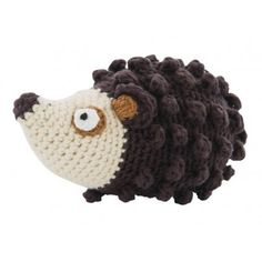 Crochet Hedgehog Rattle