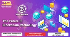 Blockchain training course in Noida promises to make you job ready fully trained in blockchain training from the institute which delivers the best in Noida. Blockchain Technology, Training Courses, 6 Months, Software, Career, Basket, Number, God, Website