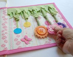 Quiet Book PageBusy Book PageToddler or by AnneCraftedGifts