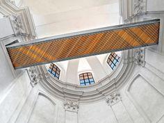 Piaristický chrám  Nalezení sv. Kříže Louvre, Tower, Stairs, Building, Home Decor, Pictures, Rook, Stairway, Decoration Home