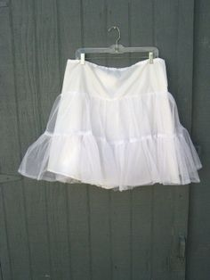 Darling Crinoline Square Dance White Tulle by sixcatsfunVINTAGE, $20.00