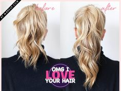 Oh My God I Love Your Hair: The 1-Minute Ponytail Makeover
