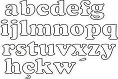 Resultado de imagen para letras molde
