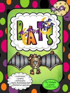 Everyone is going batty at this time of year so why not join in the fun! With the special help from MelonHeadz Graphics I have put together a literacy unit packed with content!