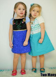 Frozen Inspired Everyday Dresses