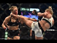 RONDA ROUSEY VS HOLLY HOLM UFC 193 : How Holm Floored Rousey