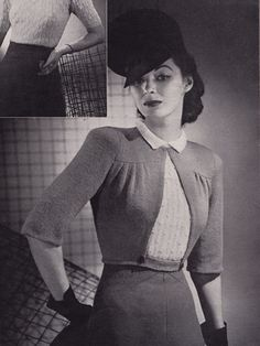 Today's free knitting pattern comes from No. 139 Sweater News edition of Chadwick's Red Heart Wools publication from 1939. Click on the following link to download the pattern as a pdf: …