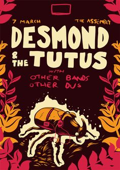 Desmond & The Tutus Poster on Behance