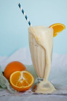 Pimm's Orange Soda Floats are summer in a glass.   http://blog.modcloth.com/2012/08/10/pimms-orange-soda-floats-810/