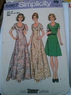 simplicity 5967 - Google Search