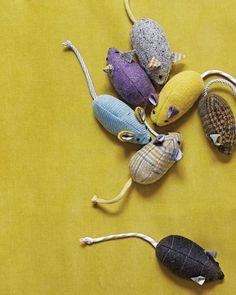 Se ganhar este brinquedo para gato o seu bichano vai ficar ainda mais feliz (Foto: marthastewart.com)                                                                                                                                                                                 Mais