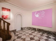 Bottazzi's exhibition at Artiscope gallery in Brussels, first room