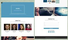 Mamba-Free-one-page-template