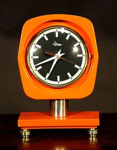 70s table clock
