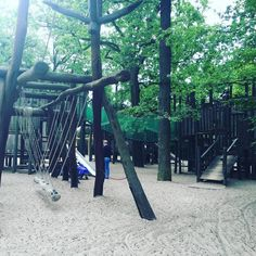 The playground at the Berlin Zoo is completely insane.