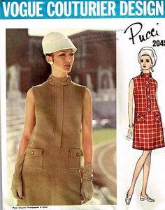 Sewing pattern - Vogue Couturier #2045, Pucci