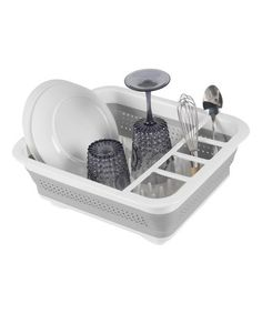 Another great find on #zulily! Collapsible Dish Rack #zulilyfinds. $14.99.  This would be terrific for camping!