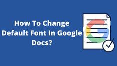 Wondering how to change default font in Google docs? If your answer is yes, then I am going to help you out. It would not be wrong to say that Google Docs is the new ... Read moreHow To Change Default Font In Google Docs? Text Fonts, Google Docs, Favorite Words, Maze, Just Go, Work On Yourself, Change, Sayings, Reading