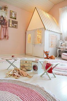 Blog da Carlota: Decoração - Paredes giras para o quarto das princesas