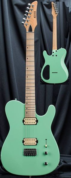 Kiesel Guitars Carvin Guitars This killer Surf Green Solo