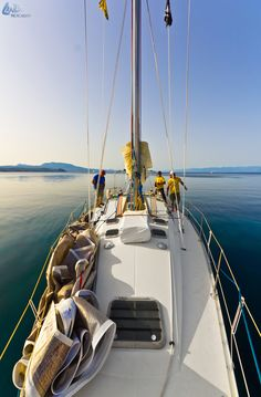 All Aboard, Sailing in Greece