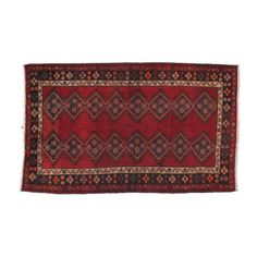 Persian Tribal Rug - $800 Est. Retail - $425 on Chairish.com